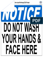 Notice - Do not wash your hands and face here.pdf