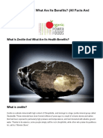 What is Zeolite and What Are Its Benefits