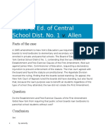 22-4 Board of Education v. Allen Case Digest