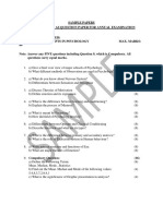 Applied Psychology Model Paper