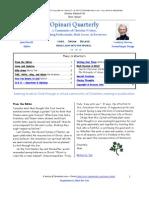 Opinari Quarterly_Spring 2010