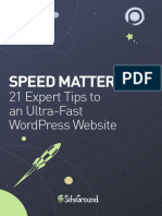 Optimize WordPress Speed eBook