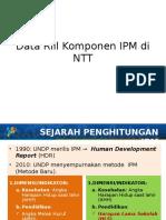 Data Riil Komponen IPM Di NTT