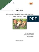 Proyecto Del Cacao