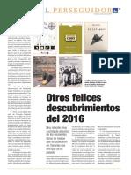 """Reseña """"Puro Cuento"""" Diario de Avisos. El Perseguidor por Eduardo García Rojas 2017-01-08"""