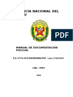 Manual Documentacion Policial 2016