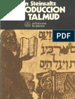 Adin Steinsaltz, Introduccion Al Talmud