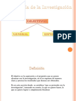 Objetivos para redactar investigacion.ppt