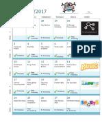 Activity Schedule 2017 v1