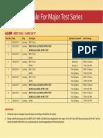 Mts Neet Ug Aiims Schedule 2016 17