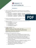 Examenes de Suficiencia Prog Avan i - II - III