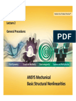 ANSYS Mechanical Basic Structural Nonlinearities