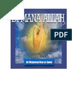 Ahli Sunnah Mengimani Bahwa Allah Ta'ala Di Atas ArasyNya