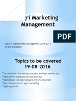 Agri Marketing Mgmt