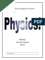 12 Physics Handbook - Jan 2012