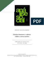 Antropologia e Direitos Humanos - MV de Almeida
