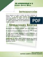 Guía de Aprendizaje Excel - FÓRMULAS Y FUNCIONES