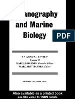 Oceanography and Marine Biology Voulme 27