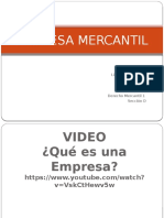 Clase 2 - Empresa Mercantil