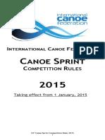 Icf Canoe Sprint 2015 0