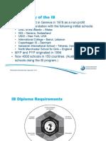 Brief History of IB - 142-1-561-1-10-20141121