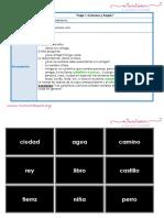 Caja 1 Sustantivos Comunes y Propios Letra Imprenta