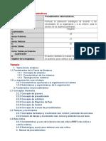 Investigacion de Unidades Procedimientos Administrativos