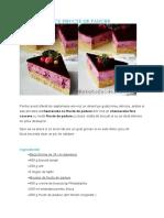CHEESECAKE CU FRUCTE DE PADURE.doc