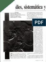 Fosiles Sistematica y Evolucion