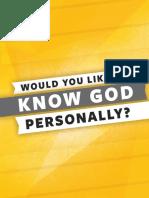 Cru Knowing God Personally