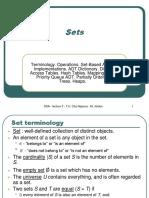 L03-SetsTerminologyOperationsSet-BasedADTsImplementationsADTDictionaryDirectAccessTablesHashTablesMappingADTPriorityQueueADTPartiallyOrderedTreesHeaps