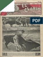El Clarín (Valencia). 27-8-1927