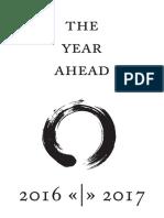 YearCompass - The Year Ahead