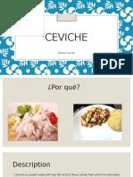 Ceviche Presentation