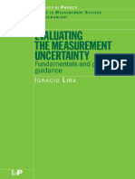 Metrology - Evalauation the measurement uncertainty Fundamental and practical guidance.pdf