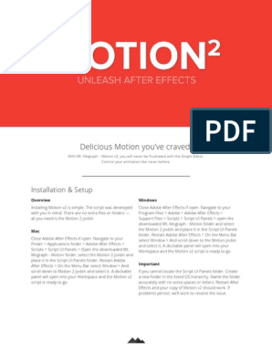 Motion v2 - READ ME pdf   Scripting Language   Microsoft Windows