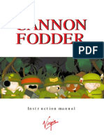 Cannon Fodder Manual