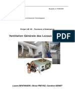 Rapport Conception du reseau de ventilation