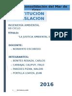 La Justicia Ambiental - Original