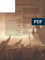 Excerpt - 5e Path of the Dead Barbarian