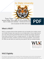 wue college research