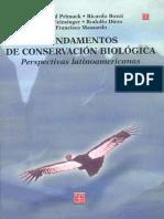 Fundamentos de Conservacion Biologica - Richard Primack