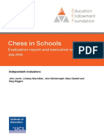 EEF Project Report Chess in Schools