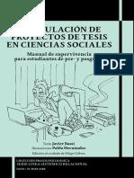 Bassi Javier. Formulacion De Proyectos De Tesis En Ciencias Sociales.pdf