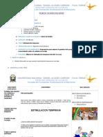 Plan de Sesión Educativa Estimulacion Temprana