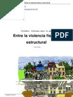 Galindo, Camila. Gómez, John Freddy. Entre La Violencia Física y Estructural