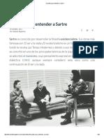 5 Puntos Para Entender a Sartre
