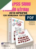 KPSS 2010 Soru Tahmin Kitabı