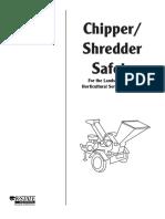 Chipper-shredder Safety Manual