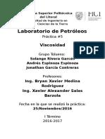Laboratorio de Petroleos. Informe 5